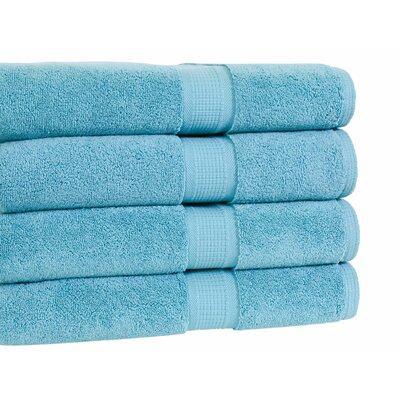 Bloomberg Bath Towel Color: Teal