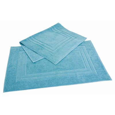 Bloomberg Bath Mat Color: Teal