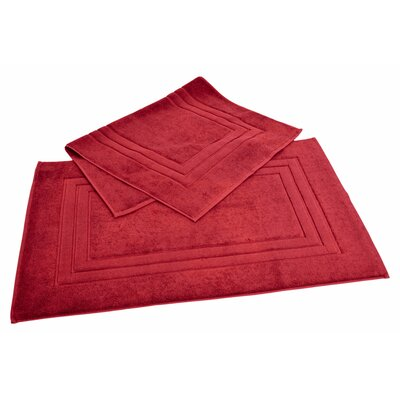 Bloomberg Bath Mat Color: Cranberry