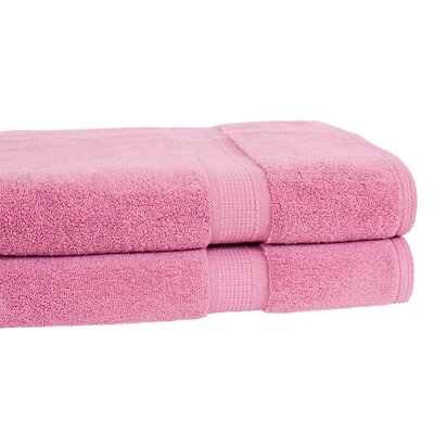 Bloomberg Bath Towel Color: Cherry Blossom
