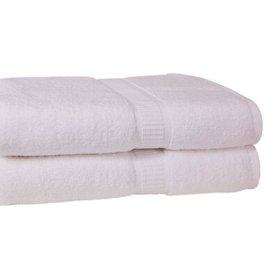 Bloomberg Bath Towel Color: White