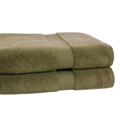 Bloomberg Bath Towel Color: Moss Green