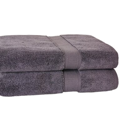 Bloomberg Bath Towel Color: Charcoal