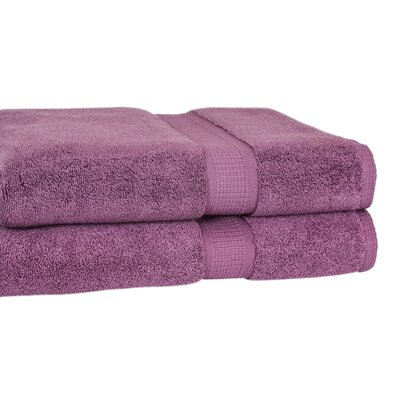 Bloomberg Bath Towel Color: Amethyst