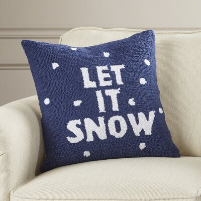 Haggerty Let It Snow Throw Pillow