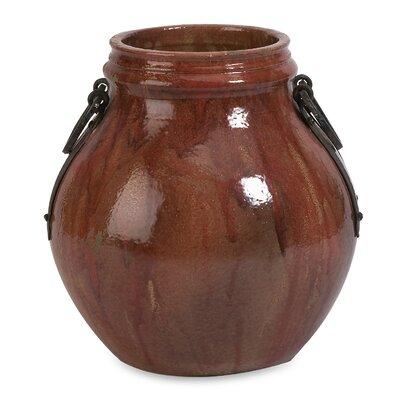 Helena Red Short Vase