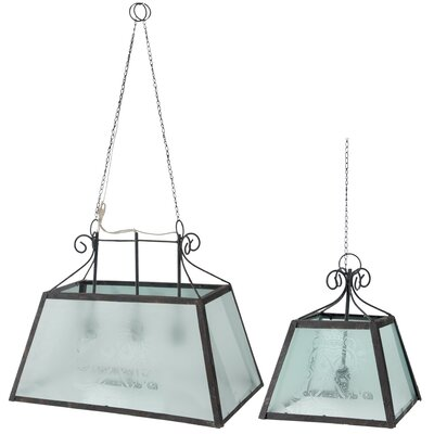 Coderre 2 Piece 4-Light Pendant Set