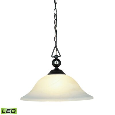 Corduff 1-Light Bowl Pendant