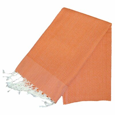 Hudgens Bath Towel Color: Orange