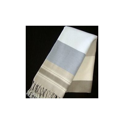 Hudgens Honeycomb Weave Bath Towel Color: White