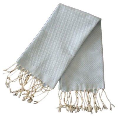 Hudgens Honeycomb Weave Bath Towel (Set of 2) Color: Azur