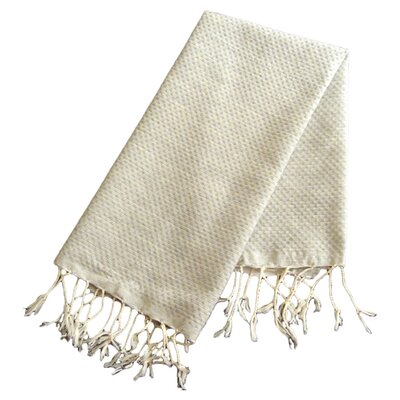 Hudgens Honeycomb Weave Bath Towel (Set of 2) Color: Pearl Gray