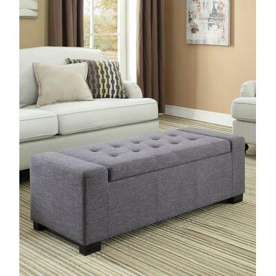 Marengo Storage Ottoman Upholstery Color: Slate Gray