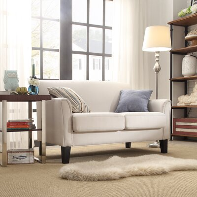 Darby Home Co DRBC4685 32327988 Crawford Modern Loveseat