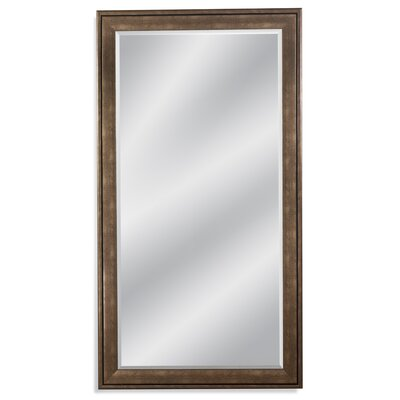 Rectangle Bronze gold Leaner Mirror