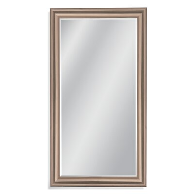 Polished gold Leaner Mirror