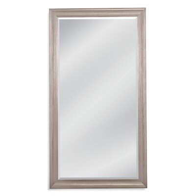 Rectangle Silver Leaner Mirror