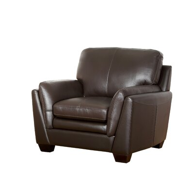 Whitstran Top Grain Leather Armchair