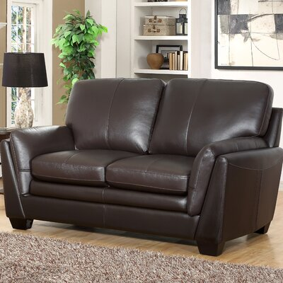 Whitstran Leather Loveseat