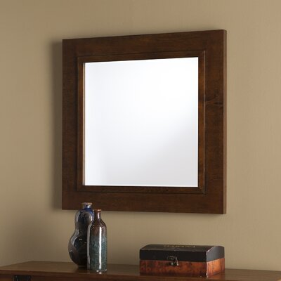 Rectangle Wood Decorative Wall Mirror