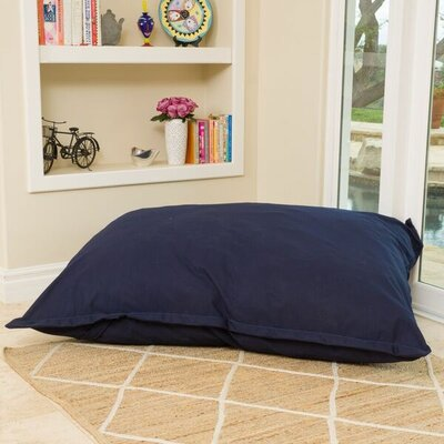Bean Bag Lounger Color: Canvas Navy