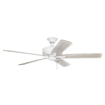 Silas 60 5-Blade Ceiling Fan Finish: Matte White