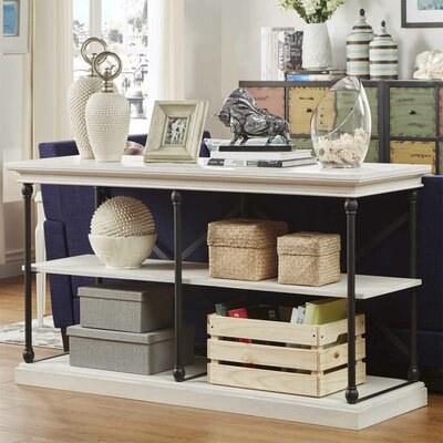 Gail 60 TV Stand Color: White