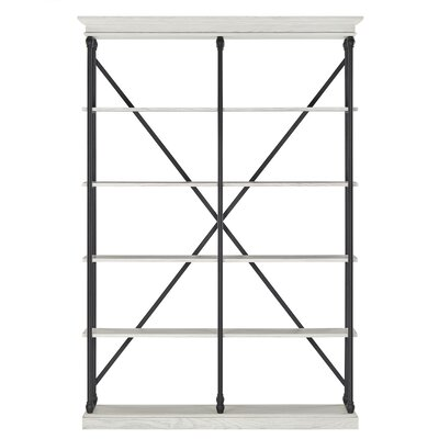 Eastgate 84 Etagere Bookcase Color: Antique White
