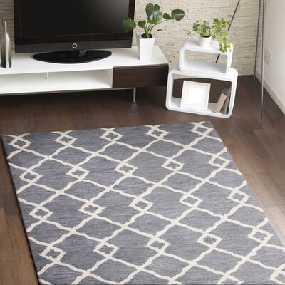 Coronet Hand-Tufted Grey Area Rug