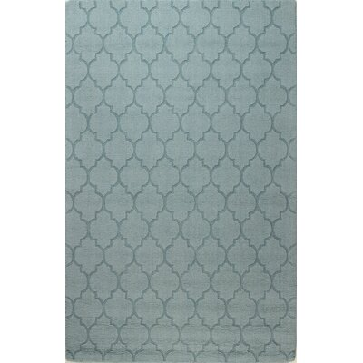 Craven Hand-Woven Light Blue Area Rug Rug Size: 5 x 76