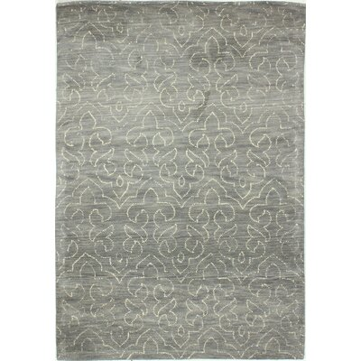 Crestshire Hand-Tufted Grey Area Rug Rug Size: 76 x 96