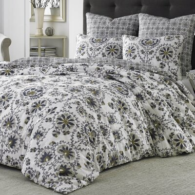 Curtis 3 Piece Duvet Cover Set Size: Full / Queen