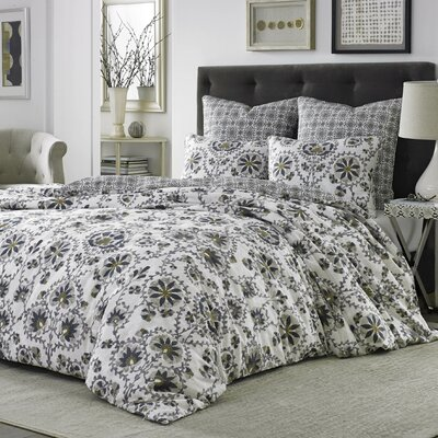 Curtis 3 Piece Comforter Set Size: Queen