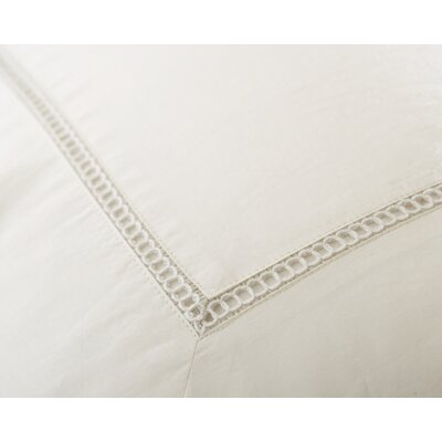 Ertel 400 Thread Count 100% Cotton Sheet Set Size: Full, Color: White