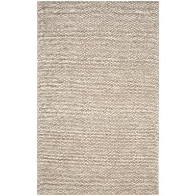 Dascomb Hand-Tufted Beige Area Rug Rug Size: 5 x 8