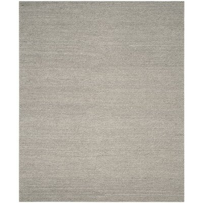 Bathild Hand-Tufted Silver Area Rug Rug Size: Rectangle 9 x 12