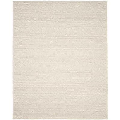 Dascomb Hand-Tufted Ivory Area Rug Rug Size: 8 x 10