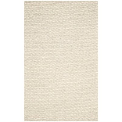 Dascomb Hand-Tufted Ivory Area Rug Rug Size: 9 x 12