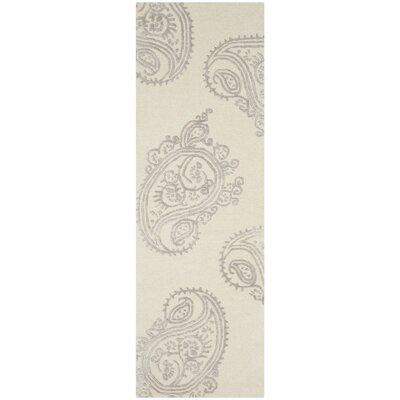 Shillington Hand-Tufted Ivory/Beige Area Rug Rug Size: Runner 23 x 7