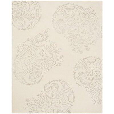 Shillington Hand-Tufted Ivory/Beige Area Rug Rug Size: 8 x 10
