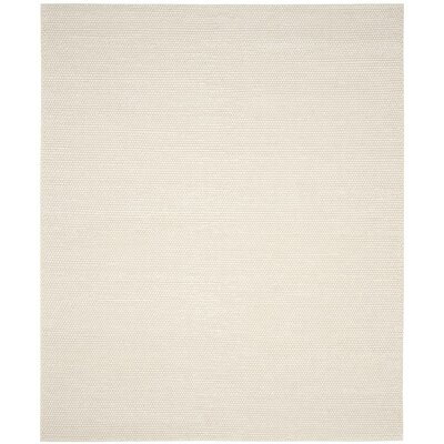 Bathild Hand-Tufted Ivory Area Rug Rug Size: Rectangle 9 x 12