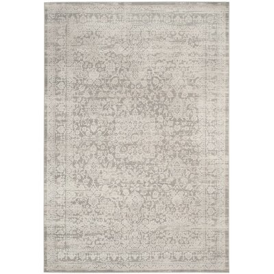 Douglass Gray/Beige Area Rug Rug Size: Rectangle 9 x 12