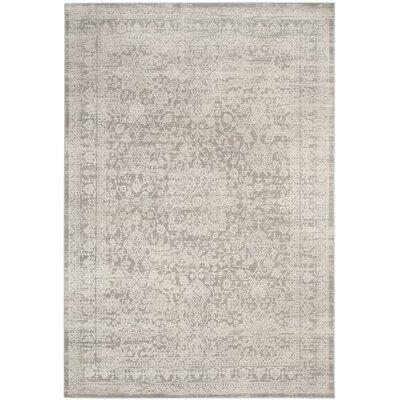 Douglass Gray/Beige Area Rug Rug Size: 9 x 12