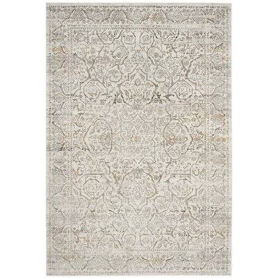 Douglass Beige/Gray Area Rug Rug Size: Rectangle 51 x 76