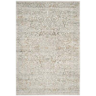 Douglass Beige/Gray Area Rug Rug Size: 51 x 76