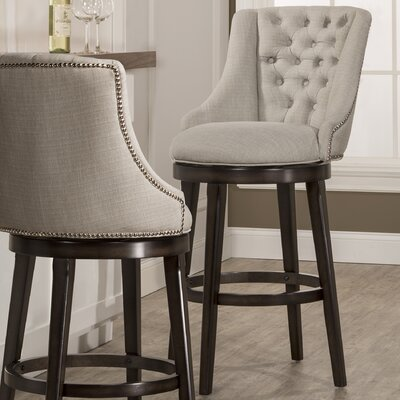 Daniel 30 Swivel Bar Stool with Cushion