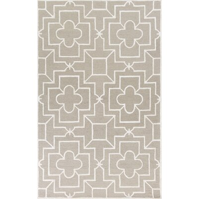 Che Hand-Tufted Beige/Gray Area Rug Rug Size: Rectangle 33 x 53