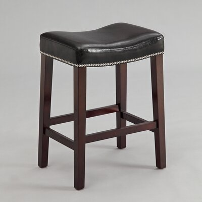 Cyril 25.8 Bar Stool Color: Black