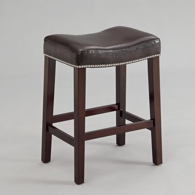 Cyril 25.8 Bar Stool Color: Espresso