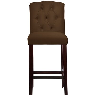 Cyrus 31 Bar Stool Upholstery Color: Chocolate